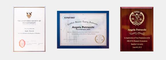 Swissphysio certificates